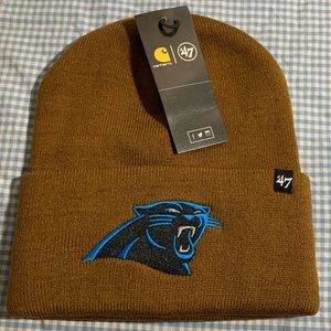 Carolina panthers Carhart X '47 cuff knit  beanie